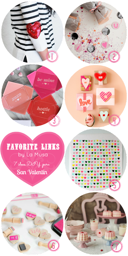 Favorite Links, San Valentín, DIY, La Musa, Valentine