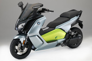 BMW C Evolution Long Range (2017) Front Side