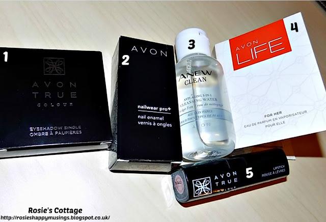 Avon True Range Starter Kit Free Gift