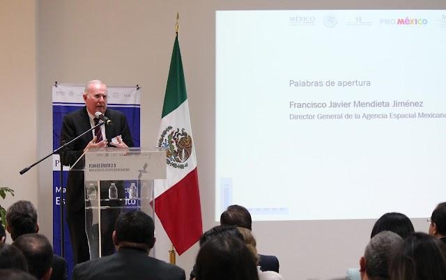 AGENCIA ESPACIAL MEXICANA y PROMÉXICO PRESENTAN PLAN DE ÓRBITA 2.0