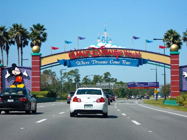 Aluguel de carro na Disney