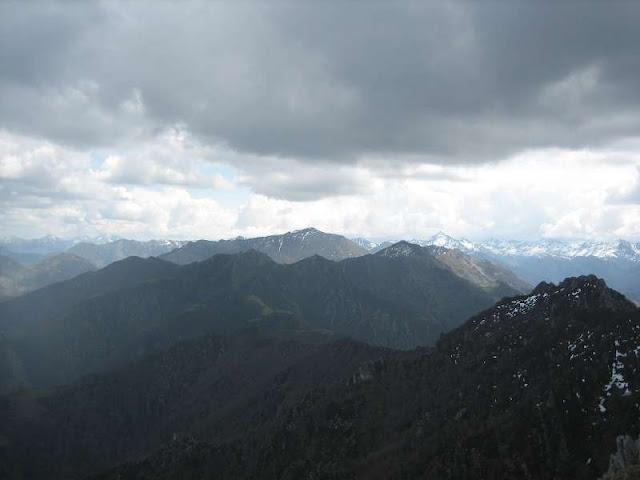 Vista desde Peña Mea del Retriñón y Torres