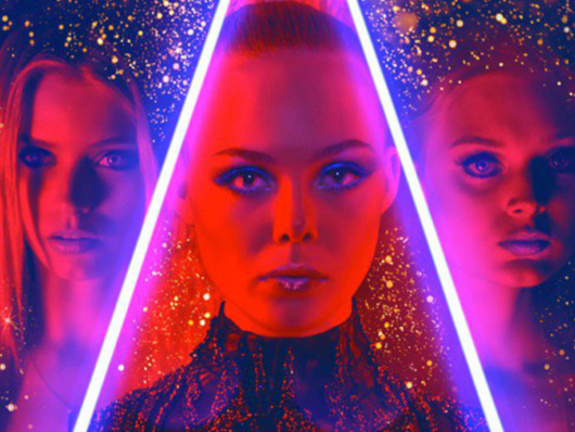 Luminoso nuevo póster internacional de 'The Neon Demon'