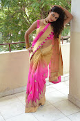 pavani new photos in saree-thumbnail-1