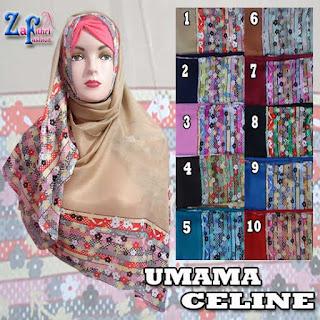 jilbab-segi-empat-umama-celine-motif-terbaru