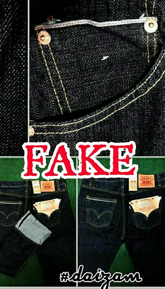 Cara Mengesan Fake Levi S Big E Usa Khas Untuk Newbie Saja The Reporter