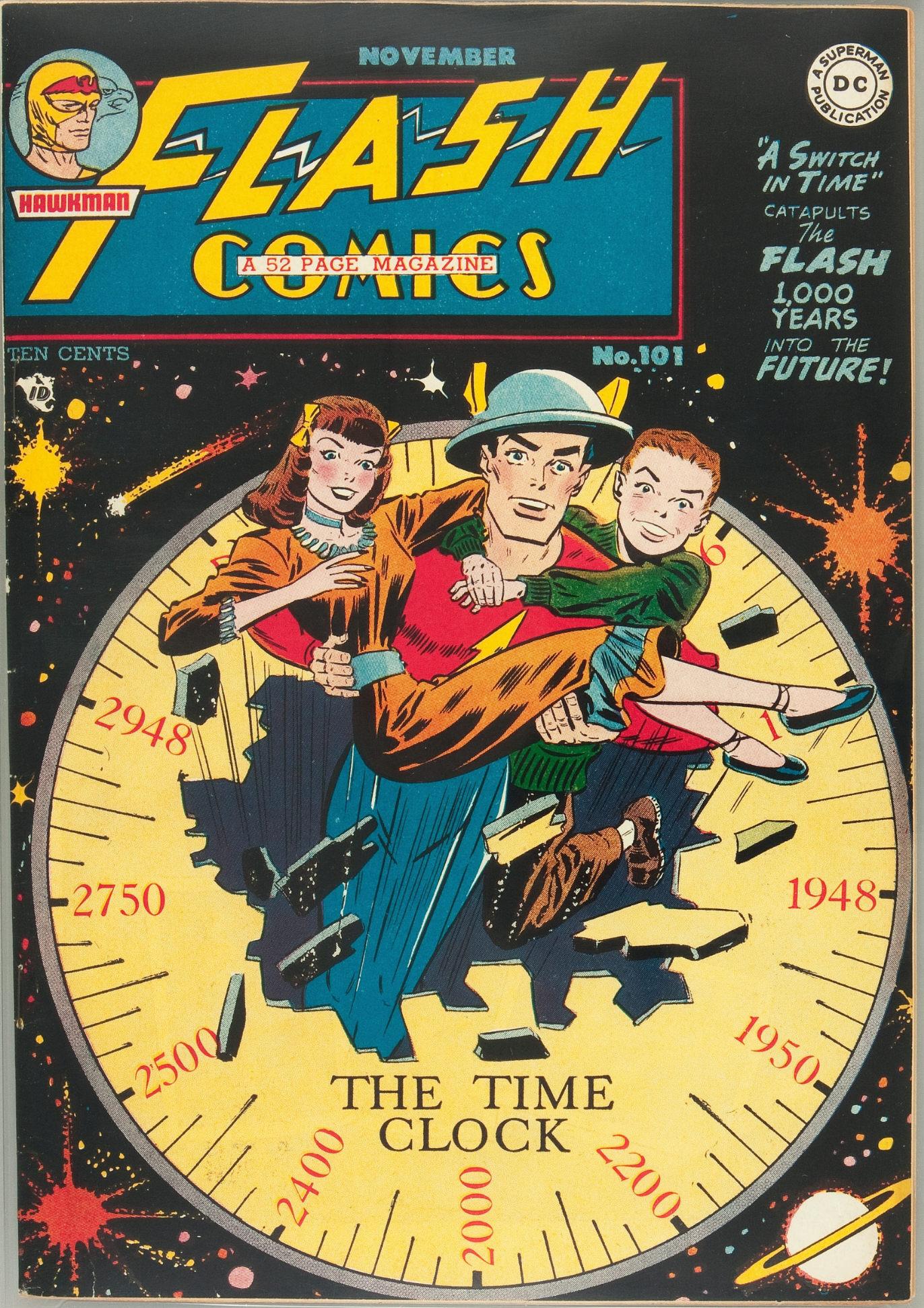Flash Comics 101 Page 1