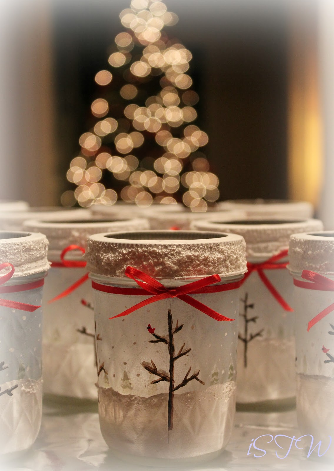 Isavor The Weekend Frosted Mason Jars Diy