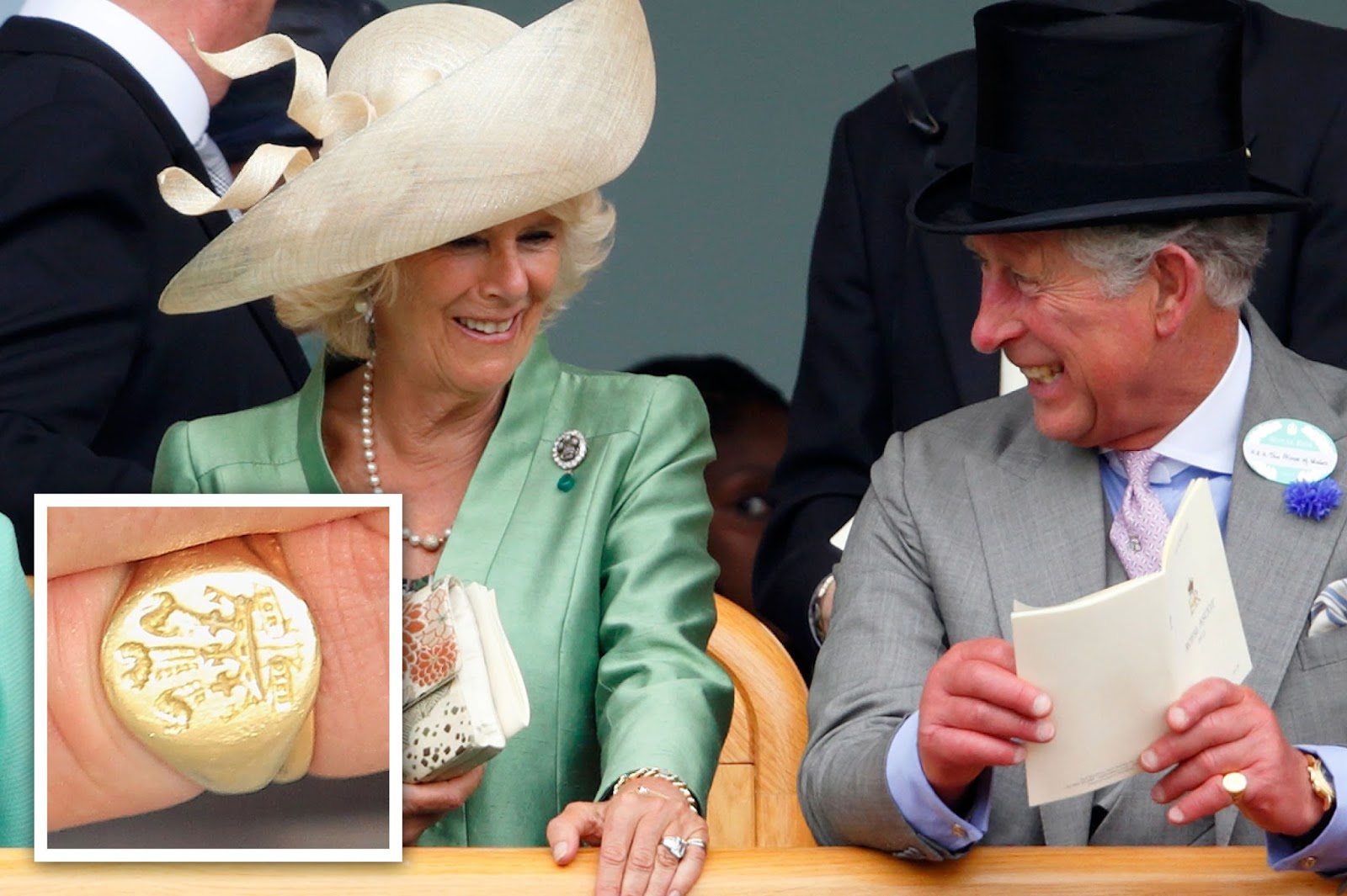 Prince Charles Has Added A Wedding Band To His Little Finger In Stacked Fashion The Ss Of Cornwall Also Wears Signet Ring