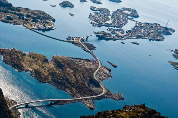 atlantic ocean road 7 Jalan Berliku Paling Menakjubkan Di Dunia