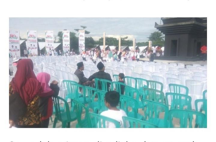 Panitia Sebut 2500 Orang, Begini Penampakkan Peserta Deklarasi Relawan 01 di Kandang Banteng
