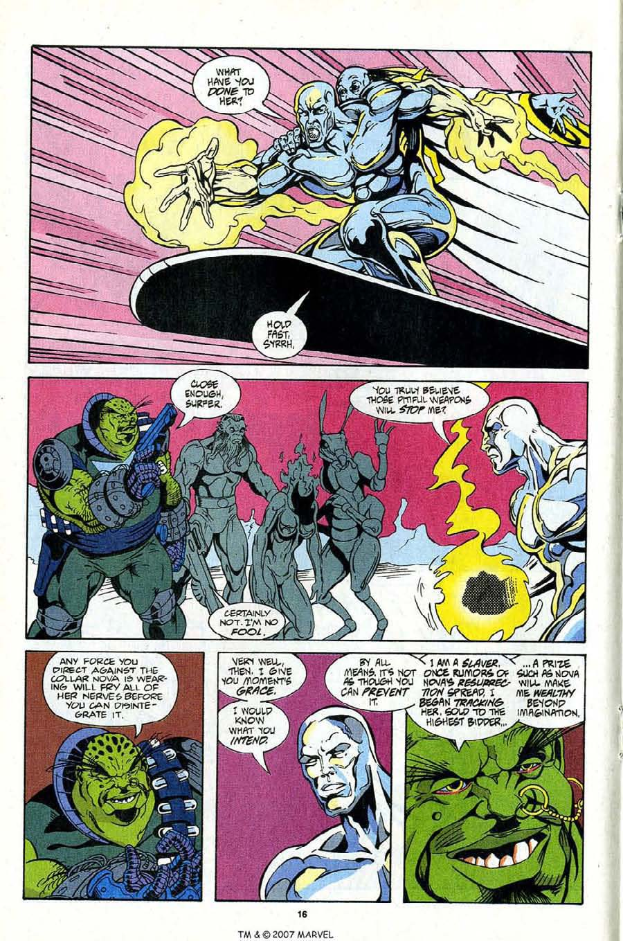 Read online Silver Surfer (1987) comic -  Issue #99 - 18