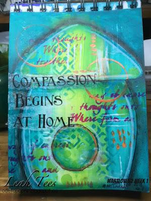 #ArtLove52, Leah Tees, Art Journal