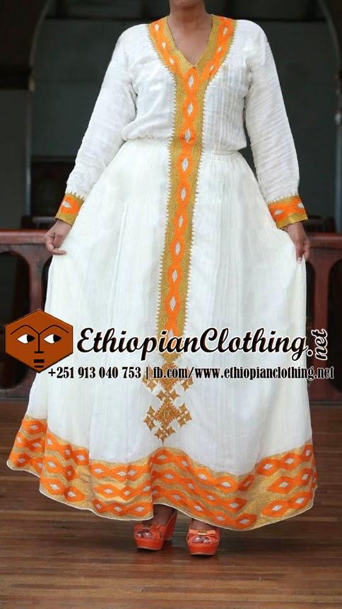 traditional ethiopian wedding dresses traditional