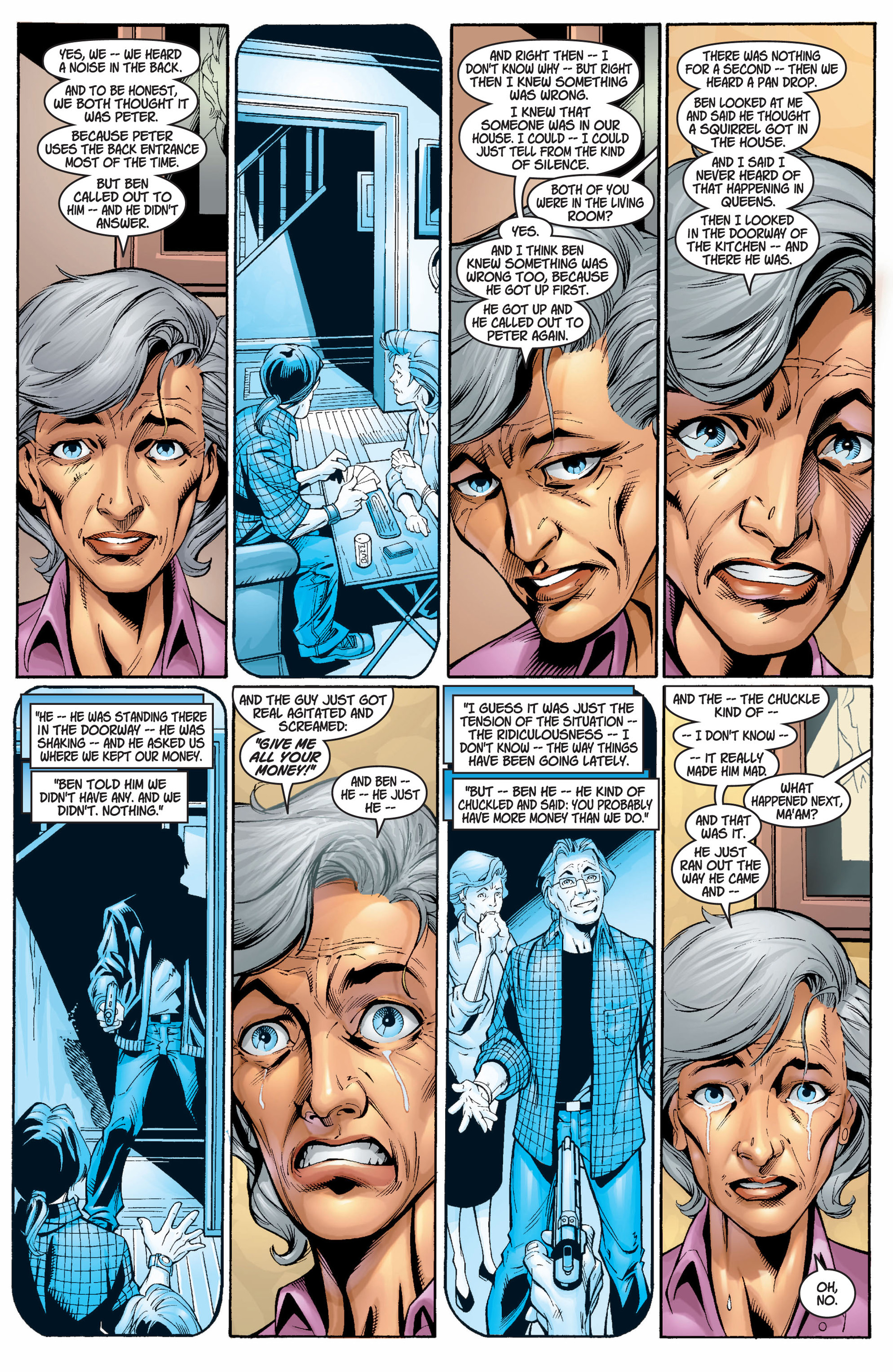 Read online Ultimate Spider-Man (2000) comic -  Issue #5 - 6