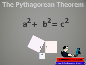 Top 10 Mathematical Equations That Changed The World-The-Pythagorean-Theorem