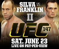 Silva vs Franklin Fight Pick UFC 147