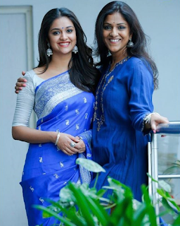 Keerthy Suresh wishing Happy Birthday to Swapna Dutt