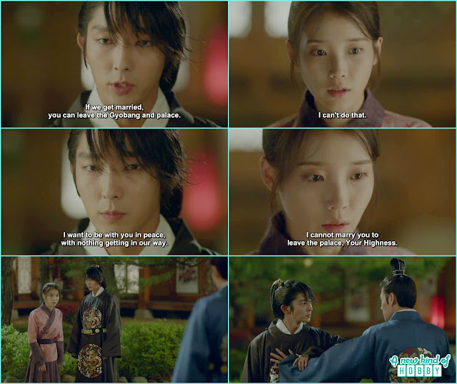 4th Prince ask Hae Soo to get married she refused and 8th Prince came  - Moon Lover Scarlet Heart Ryeo - Episode 12 - Review