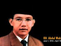 Jurus Diplomasi Kiai Wahid Hasyim