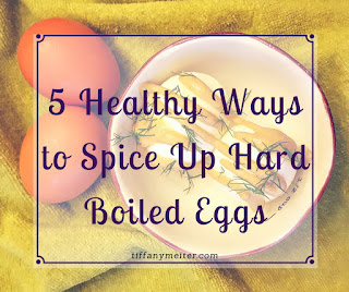 Hard Boiled Eggs, Healthy Snack
