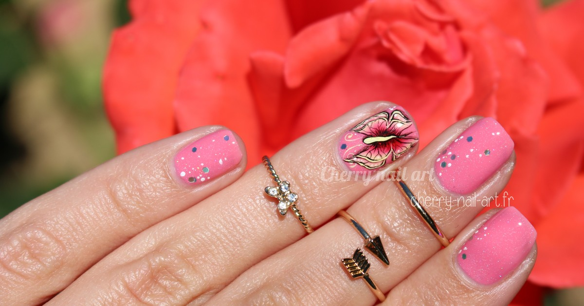 nail-art-papillon-one-stroke