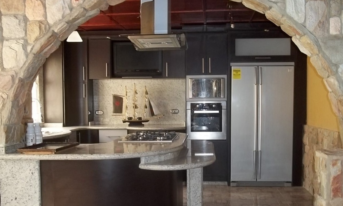 4 decoraci 243 n en cocinas estilos de casas isla - Estilos de cocinas ...