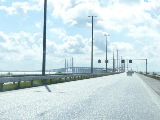 Schweden Urlaub Anreise Öresundbrücke Camping Urlaub mit Hund