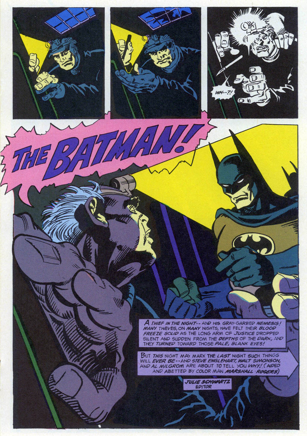 Read online Shadow of the Batman comic -  Issue #1 - 20