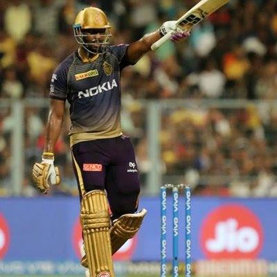 IPL 2019 KKR snap losing streak Russell roars again