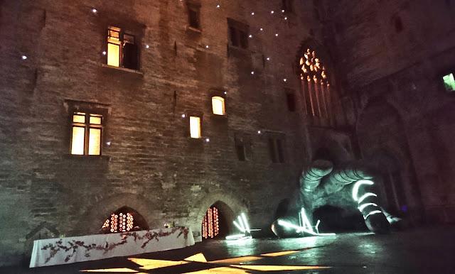 Thyeste de Sénèque mise en scène Thomas Joly  festival d'Avignon juillet 2018