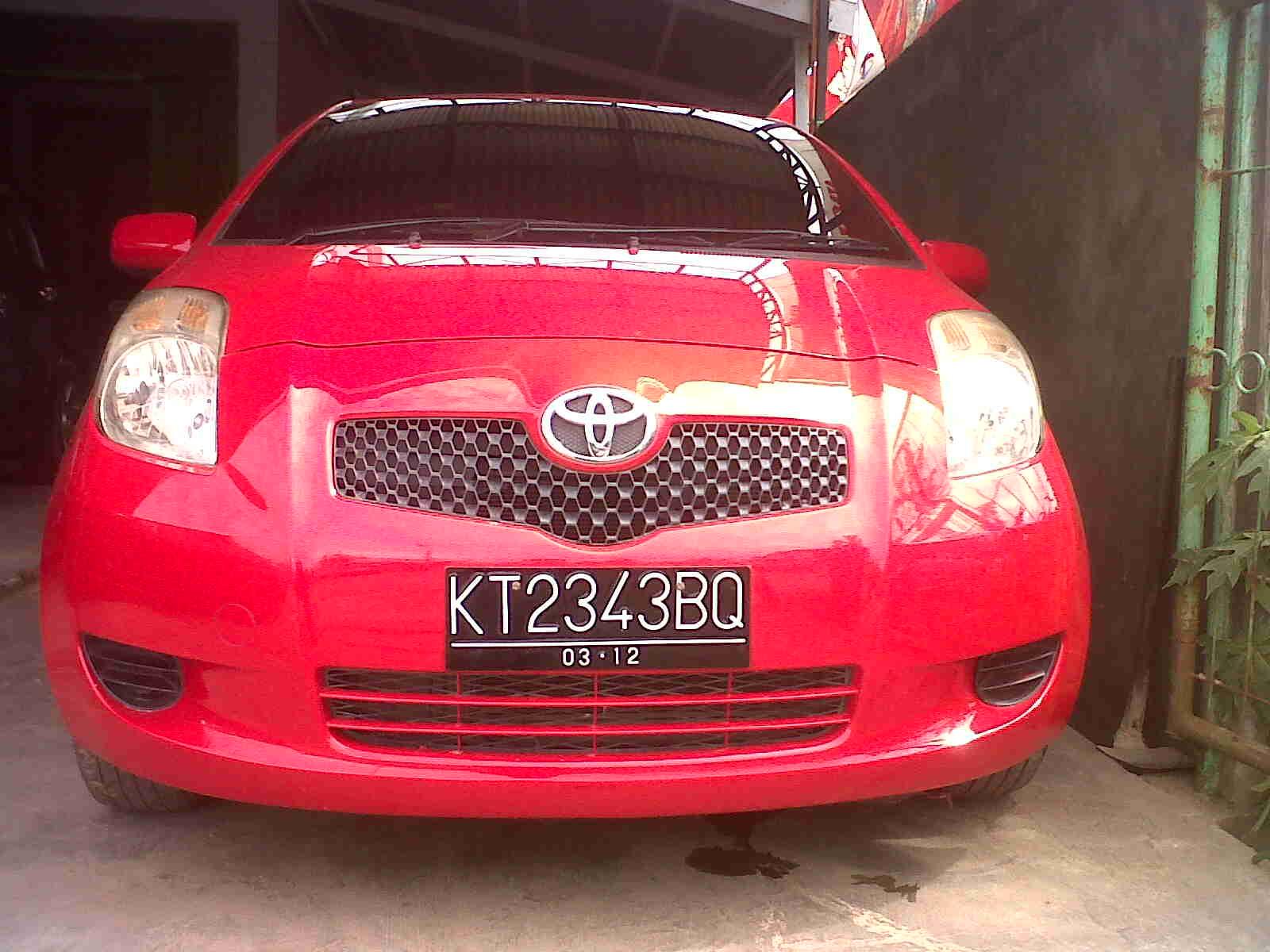Toyota Yaris Trd Merah All New Kijang Innova V Diesel Iklan Bisnis Samarinda Dijual Mobil E Manual