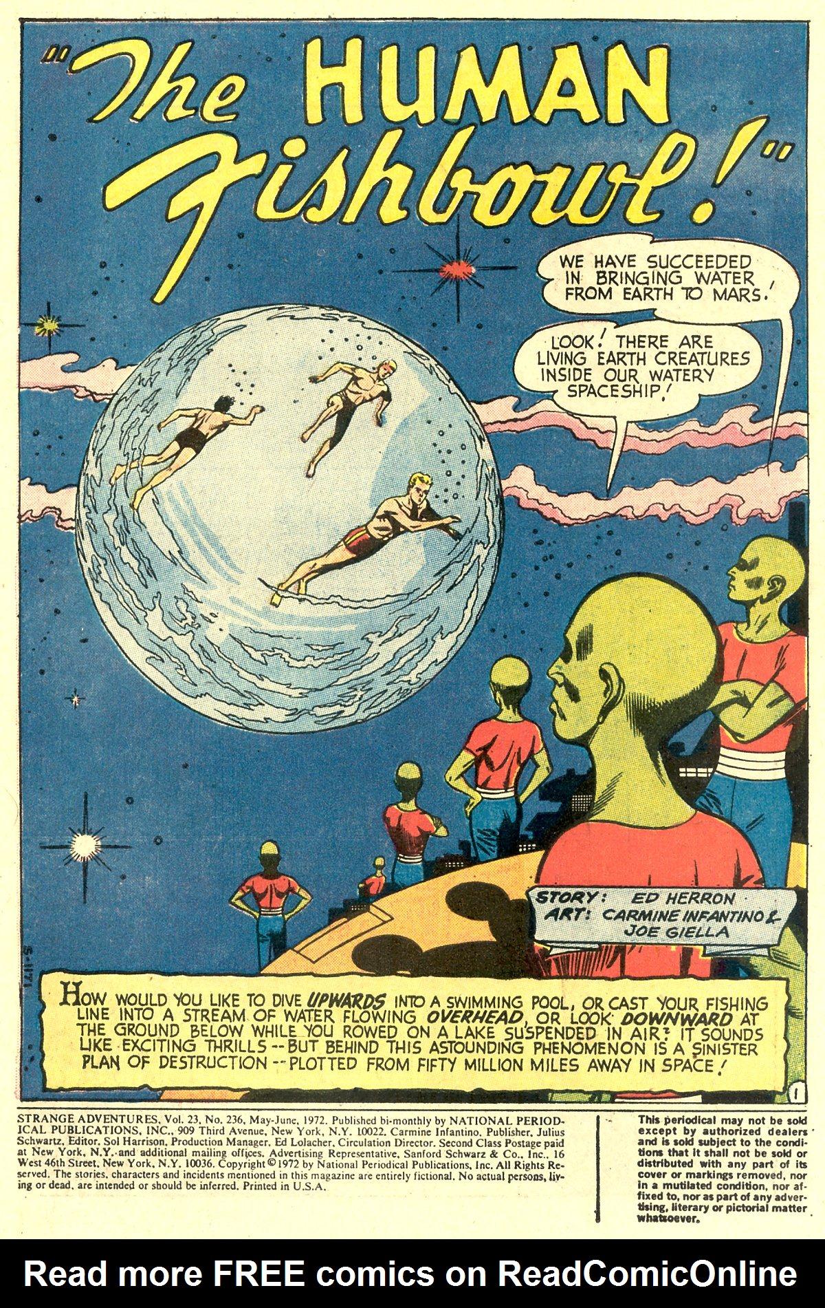 Strange Adventures (1950) issue 236 - Page 3