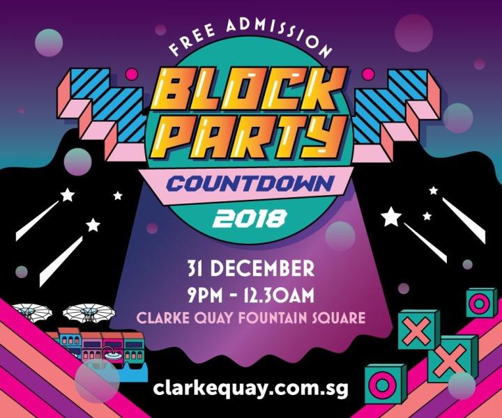 clarke quay nye block party theme play