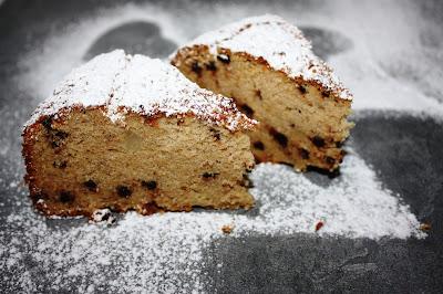torta con patate dolci e cioccolato