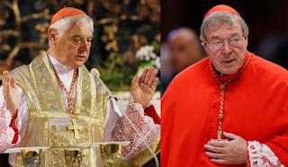 Cardinal Gerhard Müller and Cardinal George Pell