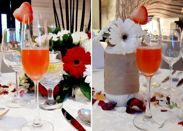 Valentines Strawberry Bellini