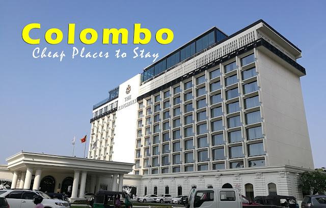 Cheap hotels in Colombo, Sri Lanka