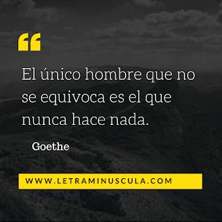 Cita Goethe