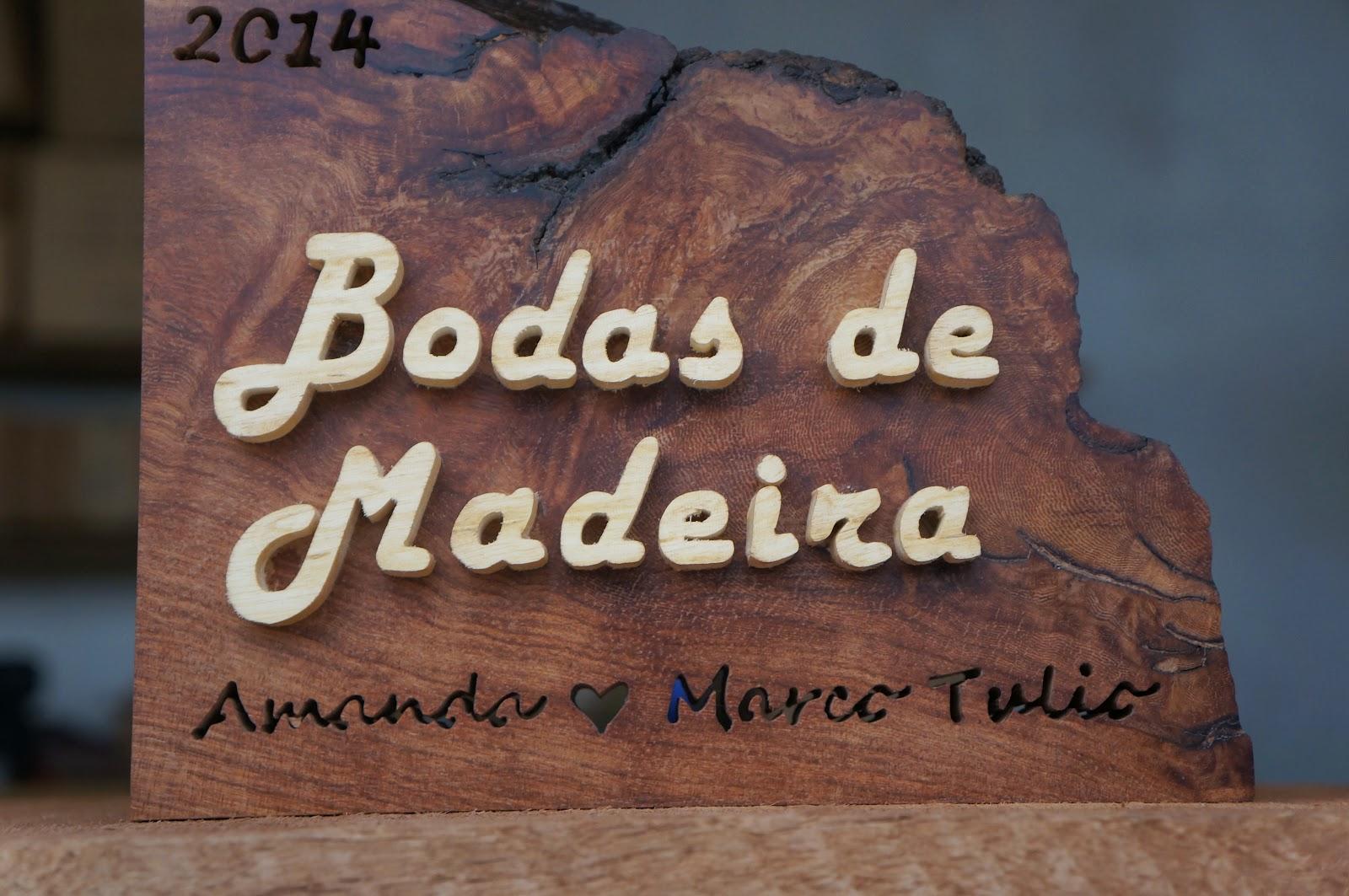 5 Anos De Casamento Bodas De: BODAS DE MADEIRA, PLACA HOMENAGEM 5 ANOS DE CASADOS