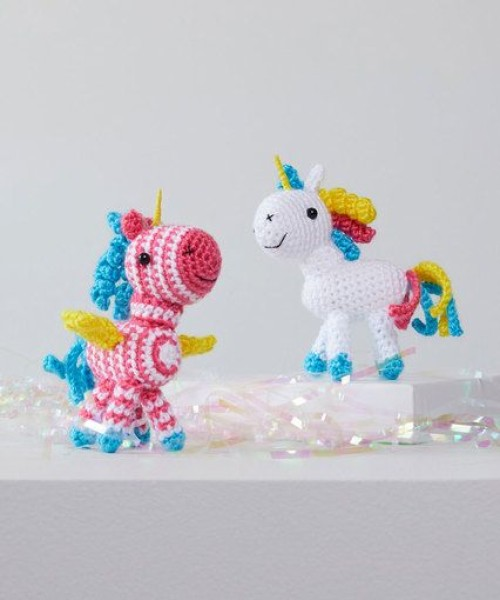 Sparkle and Shimmer Crochet Unicorn - Free Pattern