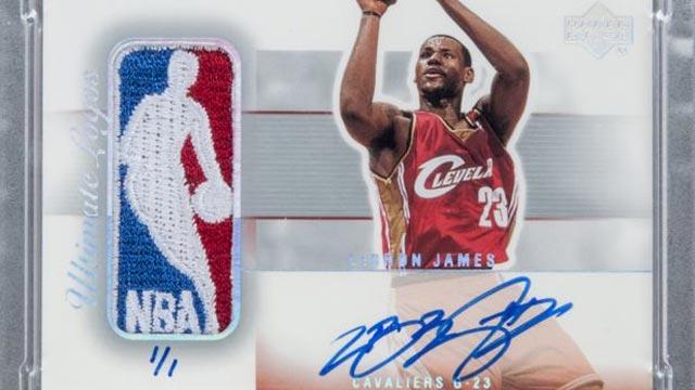 Kartu Rookie Dengan Tanda Tangan LeBron James Terjual 4 Miliar Rupiah