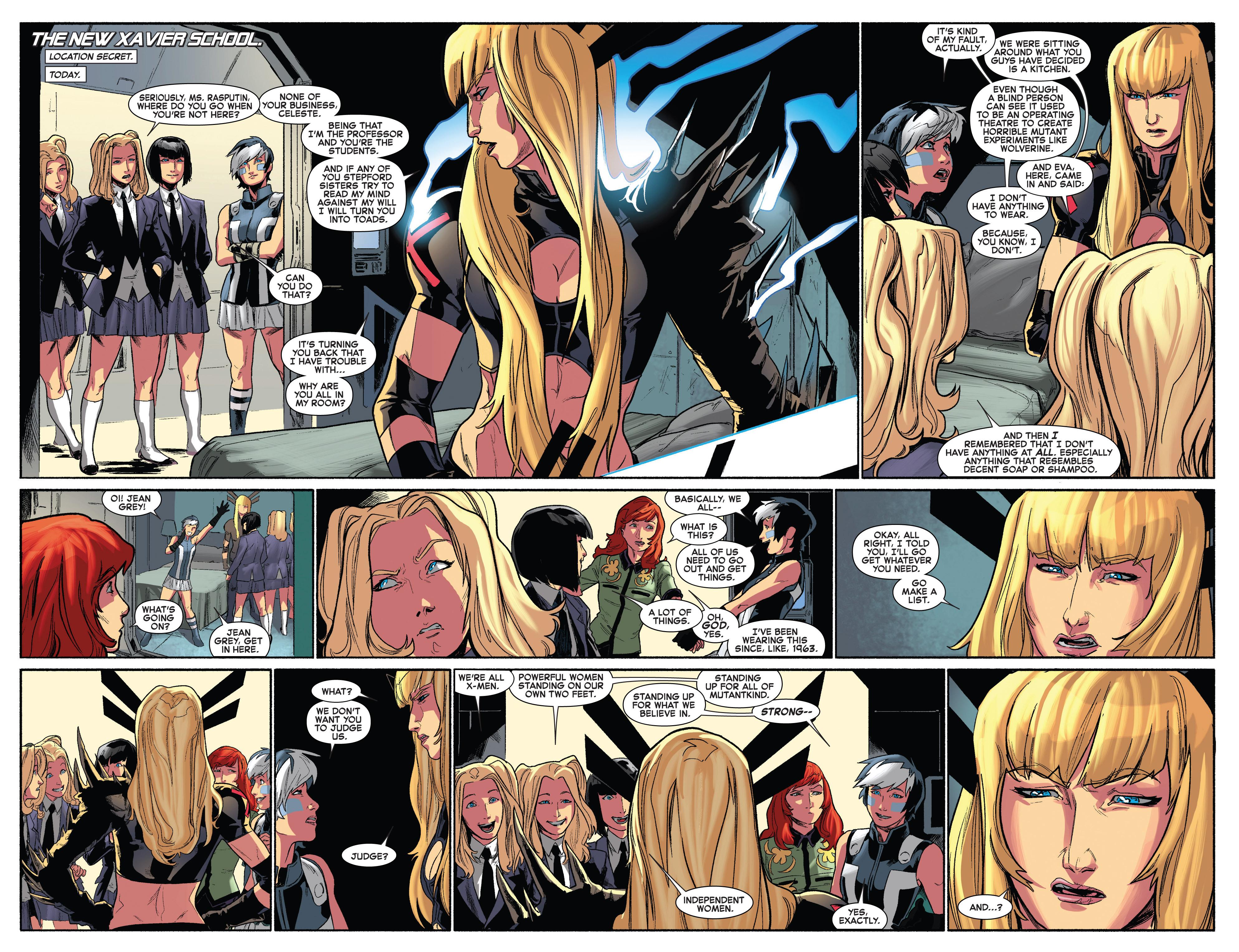 Read online Uncanny X-Men (2013) comic -  Issue #15 - 5