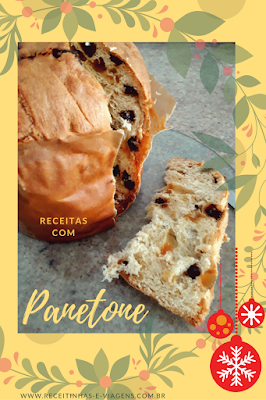 Receitas de Natal: Sorvetone sorvete de panetone
