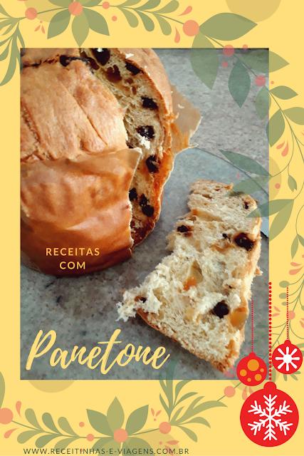 Receitas de Natal: Panetone com sorvete e marshmallow