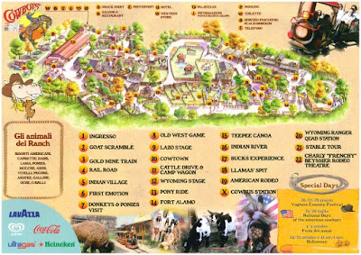 Mappa Cowboyland 2017