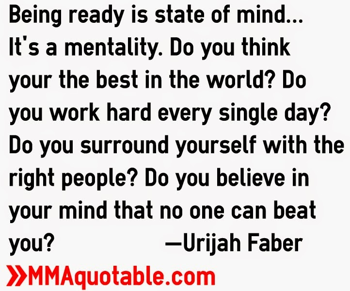 Motivational Quotes with Pictures (many MMA & UFC): Being