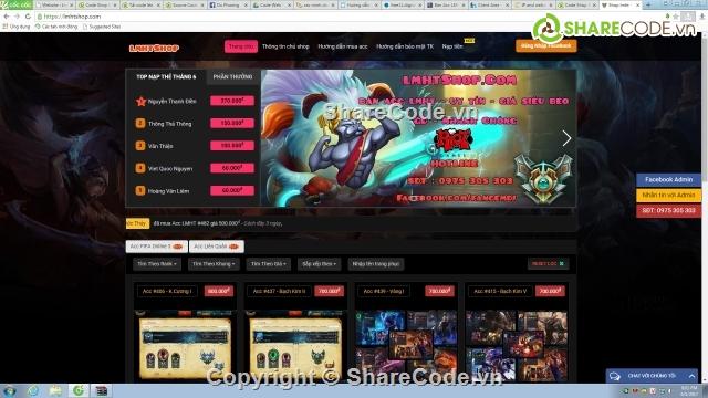 VN với giá 300.000VNĐ Mình Sẽ chia sẽ miễn phí luôn nhé !! Các bạn share  thì vui lòng ghi nguồn : Quang Huy Blog - WwW.QuangHuyIT.Com cảm ơn các bạn  nha