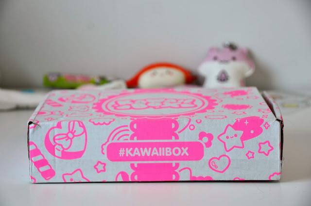 Mój pierwszy Kawaii box + Rozdanie!