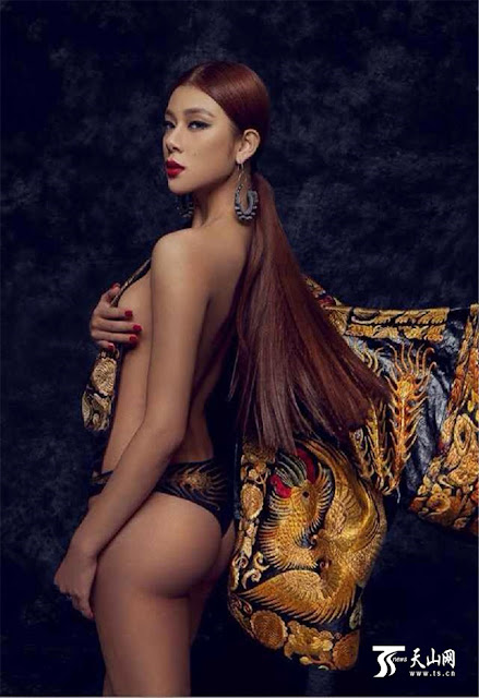 Hot girls Sexy Miss Chinese Tourism 2009 3